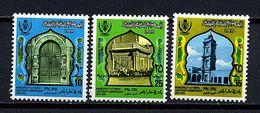 Libye ** N° 476 à 478 - Millénaire De La Ville De Tripoli - Libya