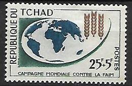 T C H A  D   -    1963.    Y&T N° 83 *.   Contre La Faim - Chad (1960-...)