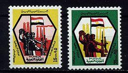 Libye ** N° 479/480 - Milice Libyenne - Libya