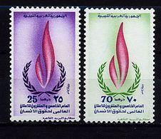 Libye ** N° 488/489 - 25e Ann. Des Droits De L'homme - Libya
