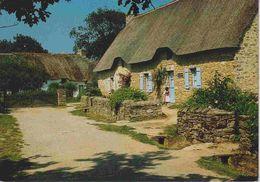44 SAINT-LYPHARD Parc Naturel Régional De Brière, Hameau De Kerhinet, Chaumière Bretonne - Animée - Saint-Lyphard