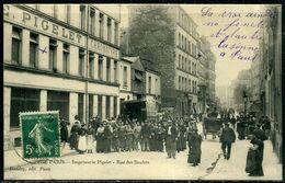 Cpa  Paris 11e  Imprimerie Pigelet  Rue Des Boulets,  Animée - Arrondissement: 11