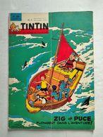 TINTIN N° 789  SALON AUTO DE TURIN (3p) + CREATION DE LA 2ème CHAINE (3p) + FATIMA (4p) COVER TIBET - Tintin