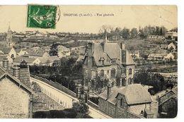 ORGEVAL (78) Vue Générale. Ed. Vve Isaac (méchant Coin Haut Droit Abîmé & Sur La Longueur) - Orgeval