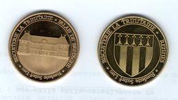 Médaille Touristique De La Fonderie Saint-Luc - 35 Rennes -Palais De Bretagne ( Parlement) écusson De La Ville Au Revers - Touristiques