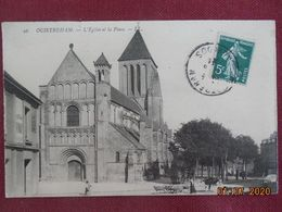 CPA - Ouistreham - L'Eglise Et La Place - Ouistreham