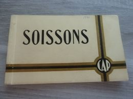20 CPA CARNET SOISSONS ANNEE 1920 - Soissons