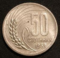 BULGARIE - BULGARIA - 50 STOTINKI 1959 - KM 56 - Bulgarien