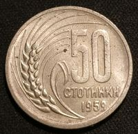 BULGARIE - BULGARIA - 50 STOTINKI 1959 - KM 56 - Bulgaria