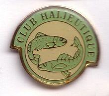 AN317 Pin's Pêche Poisson Club Halieutique Interdépartemental Achat Immédiat - Animals