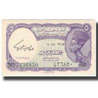 Billet, Égypte, 5 Piastres, KM:180e, SUP - Egypte