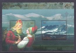 Norway - 2008 Mythology, Snohetta, Drove Mountains, Mount, Landscapes, Nordic Culture - M/S MNH - Norwegen