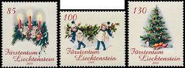 LIECHTENSTEIN Noël 2008 3v Neuf ** MNH - Liechtenstein