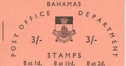 BAHAMAS, 1965, Booklet 4, 3/-: 8x1d, 8x1½d, 8x2d - Bahamas (1973-...)