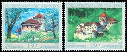 LIECHTENSTEIN Chateau De Vaduz 09 2v Neuf ** MNH - Liechtenstein