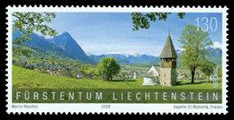 LIECHTENSTEIN Paysages - SEPAC II 2009 1v Neuf ** MNH - Liechtenstein