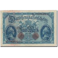 Billet, Allemagne, 5 Mark, 1914, 1914-08-05, KM:47b, TB - [ 2] 1871-1918 : Impero Tedesco