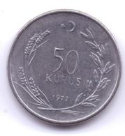 TURKEY 1977: 50 Kurus, KM 899 - Turquie