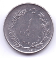 TURKEY 1978: 1 Lira, KM 889a - Turquie