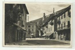 TENDA - PIAZZA ITALIA + ALBERGO D'ITALIA 1940  - VIAGGIATA FP - Cuneo