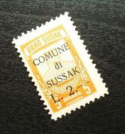 Fiume Croatia Italy Revenue Stamp L 2 B9 - Occ. Yougoslave: Fiume