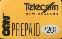 NOUVELLE-ZELANDE  -  Prepaid  -  Telecom New Zealand  -  2GO  -  $ 20 - New Zealand
