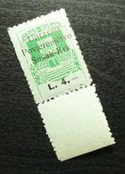 Fiume Croatia Italy Revenue Stamp L 4 B14 - Occ. Yougoslave: Fiume