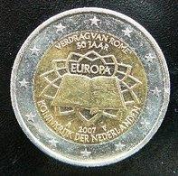 Netherlands - Pays-Bas - Nederland   2 EURO 2007  Speciale Uitgave - Commemorative  Rome - Netherlands