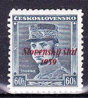 Slovaquie 1939 Mi 11 (Yv 10 ), MNH)** Pd De Gomme - Slovaquie