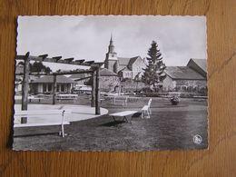 GEDINNE Plaine De Jeux Carte Postale CPSM Non Voyagée Province Namur Belgique Ardenne - Gedinne