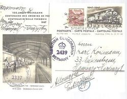 STATIONERY   1948  BRITISH CENSOR SHIP    GERMANY - Covers & Documents