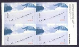 Norway - 2004 Europa, Holidays, Sport, Ski, Skiing, Glaciers, Mountains, Jotunheimen, Vacances - Block MNH - Norwegen