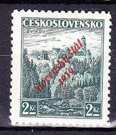 Slovaquie 1939 Mi 16 (Yv 15 ), (MH)* Signé - Slovaquie