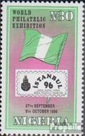 Nigeria 670 (kompl.Ausg.) Postfrisch 1996 Briefmarkenausstellung - Nigeria (1961-...)