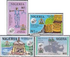 Nigeria 652-655 (kompl.Ausg.) Postfrisch 1995 50 Jahre UNO - Nigeria (1961-...)