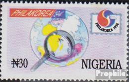 Nigeria 637A (kompl.Ausg.) Postfrisch 1994 Briefmarkenausstellung - Nigeria (1961-...)