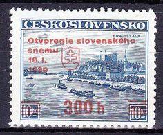 Slovaquie 1939 Mi  (Yv 35A ), (MNH)** - Neufs