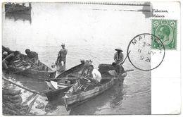 Malaysia (Malacca) – Fishermen – Year 1921 - Malaysia