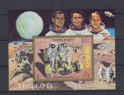 G23. Ajman - MNH - Space - Spaceships - Apollo 15 - Raumfahrt