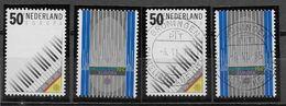 Nederland - 1985 - Yvert 1244 / 1245 - Postfris En Gestempeld - Europa . - Periodo 1980 - ... (Beatrix)