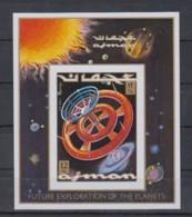H23. Ajman - MNH - Space - Spaceships - Exploration - Imperf - Raumfahrt