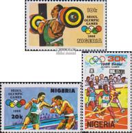 Nigeria 524-526 (kompl.Ausg.) Postfrisch 1988 Olympische Sommerspiele - Nigeria (1961-...)