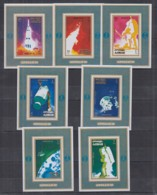 J23. Ajman - MNH - Space - Spaceships - Apollo 16 - Deluxe - Imperf - Raumfahrt