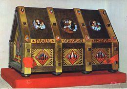 43. Saugues. Châsse Des Reliques De Saint Bénilde. Carte Moderne - Saugues