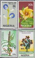 Nigeria 503-506 (kompl.Ausg.) Postfrisch 1987 Blumen - Nigeria (1961-...)