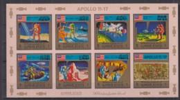 O23. Ajman - MNH - Space - Spaceships - Apollo - Imperf - Raumfahrt