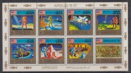 O23. Ajman - MNH - Space - Spaceships - Apollo - Raumfahrt