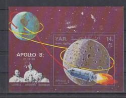 O23. Yemen - MNH - Space - Spaceships - Astronauts - Apollo 8 - Raumfahrt