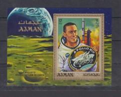 O23. Ajman - MNH - Space - Spaceships - Apollo 13 - Raumfahrt