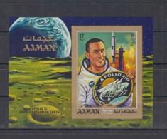 O23. Ajman - MNH - Space - Spaceships - Apollo 13 - Imperf - Raumfahrt